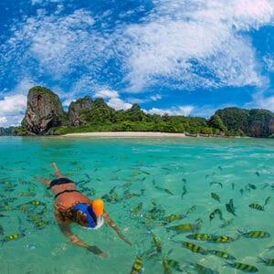 ดำน้ำ 4 เกาะ จ.กระบี่